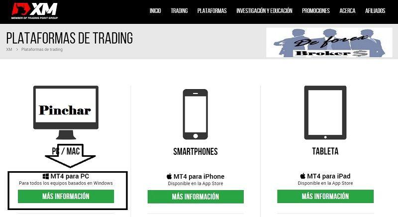abrir una cuenta real con el broker xm plataformas