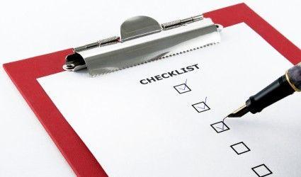 como crear un plan de tradinc check list
