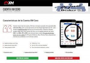 Nueva Cuenta XM Cero 0.0