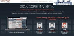 Copyop, Trading Social con Opciones Binarias