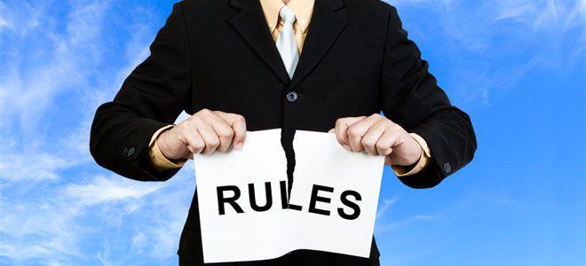 aprender a perder dinero en el trading, romper las reglas