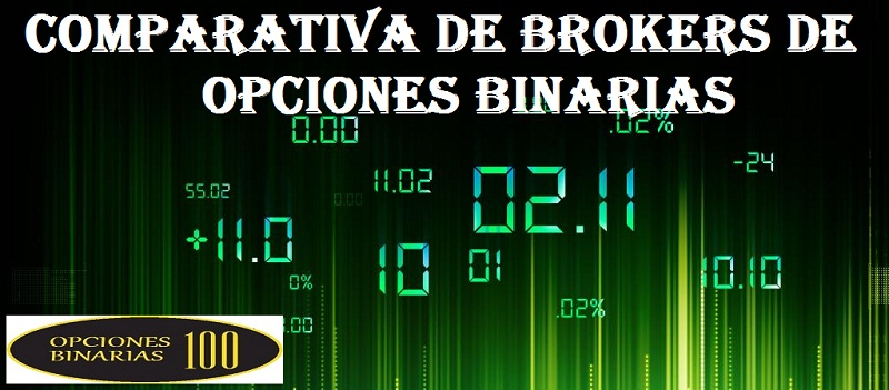 comparativa de Brokers de Opciones Binarias