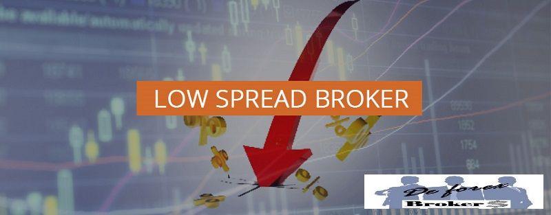 brokers con spreads forex más bajos