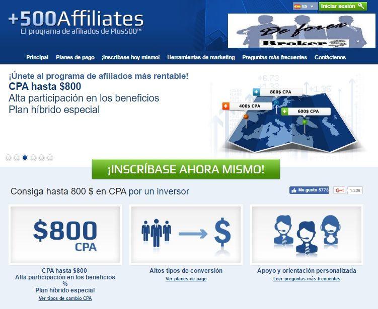 plus500 affiliates