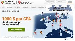 Programa de Afiliados Markets.com Affiliates