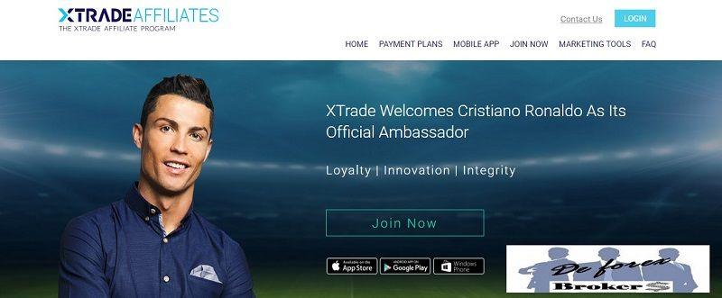 programa de afiliados xtrade affiliates