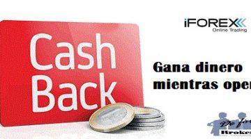 Cash Back de iForex. Un 40% por Operar