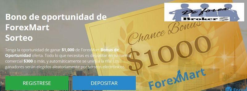 forexmart bonos
