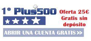 plus 500 primero