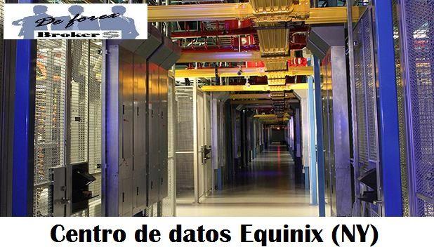dentro de datos equinix, donde ic markets tiene sus servidores