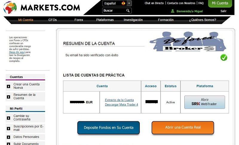 abrir una cuenta demo con markets.com 5