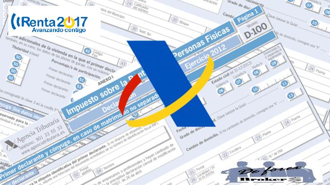 declaración de la renta 2017, impuestos y forex