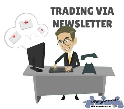 historia del trading social, primero fueron los correos electrónicos. Brokers para trading social
