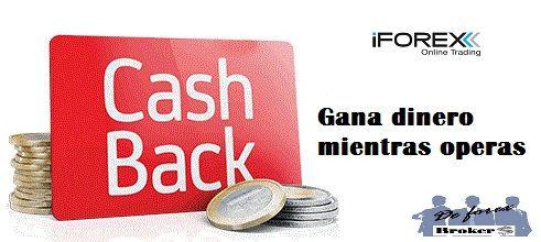 cash back iforex
