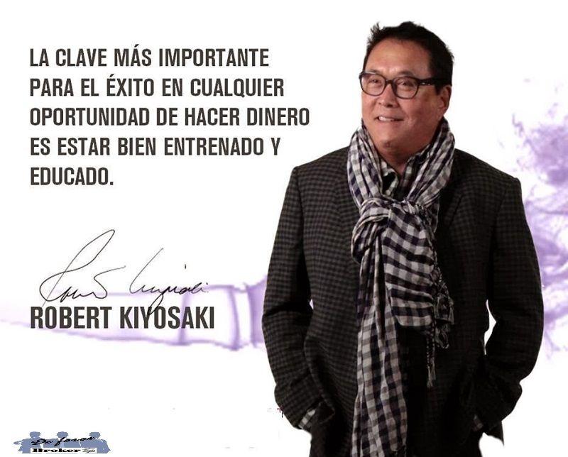 5 consejos de robert kiyosaki para invertir en bolsa, conocimientos