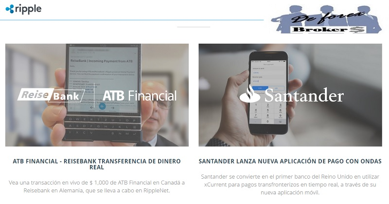 ripple es utilizado por las mejore empresas financieras