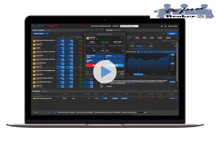 clicktrade plataforma de acciones