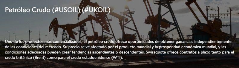 swissquote petróleo