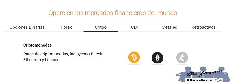 binary.com, criptomonedas